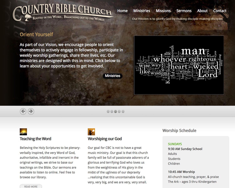 Country Bible Church